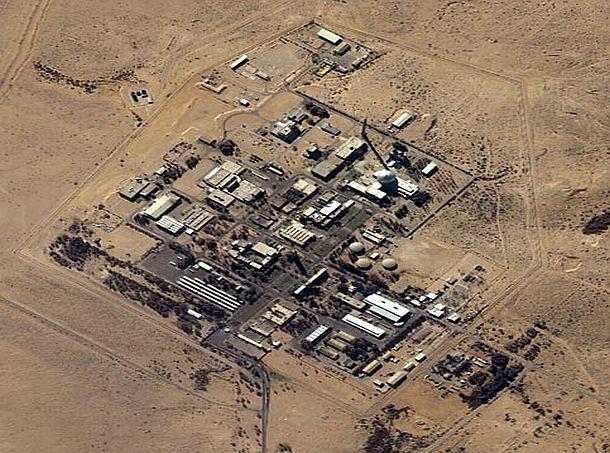 Resultado de imagen de reactor se completó en 1960 y en 1967 Israel