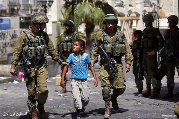 El atentado más horrendo es la Ocupación y Colonización