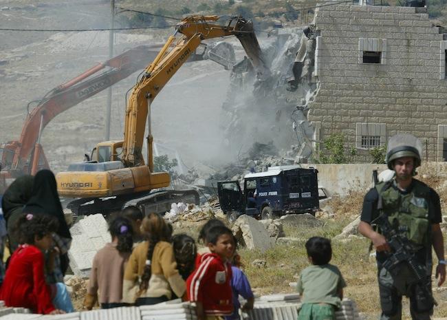 Resultado de imagen para demolicion de casas cisjordania