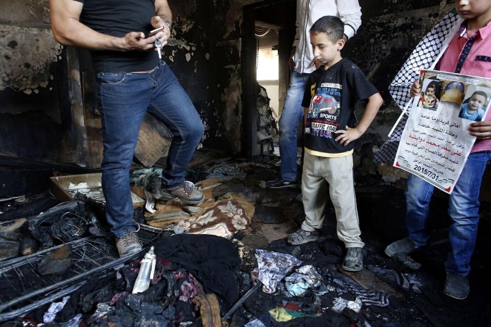 Colonos incendiarios de Duma cometieron más ataques contra palestinos y cristianos