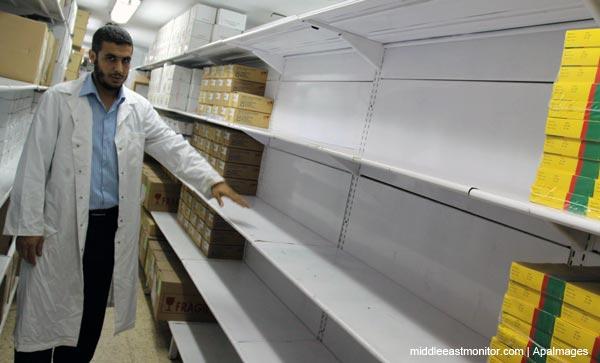 Alerta en Gaza por falta de medicamentos debido al bloqueo israelí
