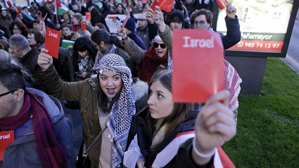 Resultado de imagen para marcha en israel en contra del racismo