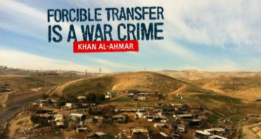 ONU llama a Israel a no demoler el poblado palestino de Khan Al Ahmar