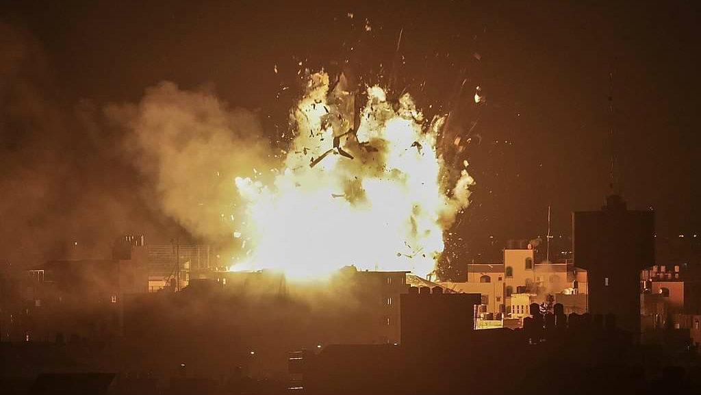 Yo sobreviví a la violencia de Gaza de la que Benny Gantz se enorgullece