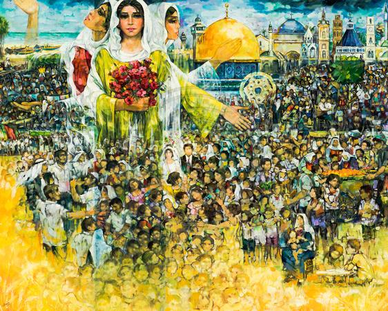 Bildergebnis für pintores palestinos