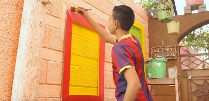 El 'barrio colorido' de Gaza: esperanza y recuperación en Palestina