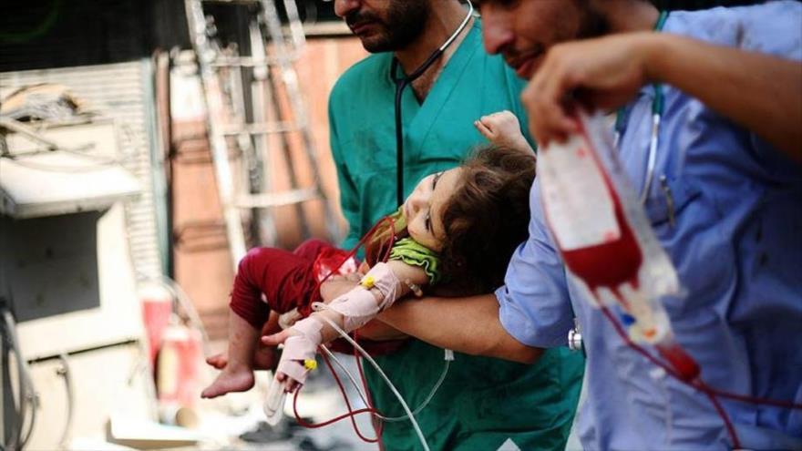 Ataques israelíes a Gaza dejaron más de 1000 niños discapacitados