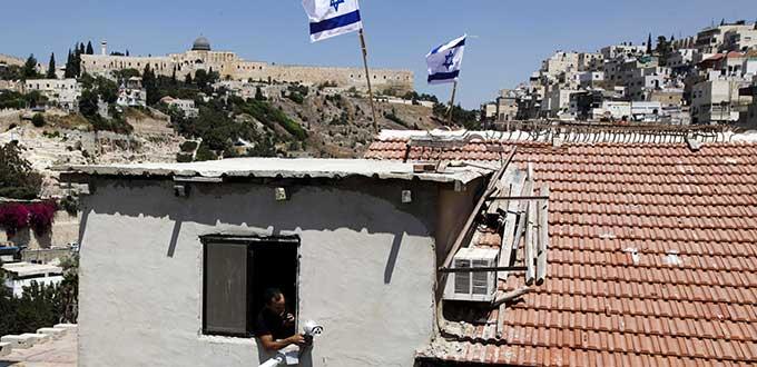 Colonos judíos toman casas en barrio palestino de Jerusalén oriental