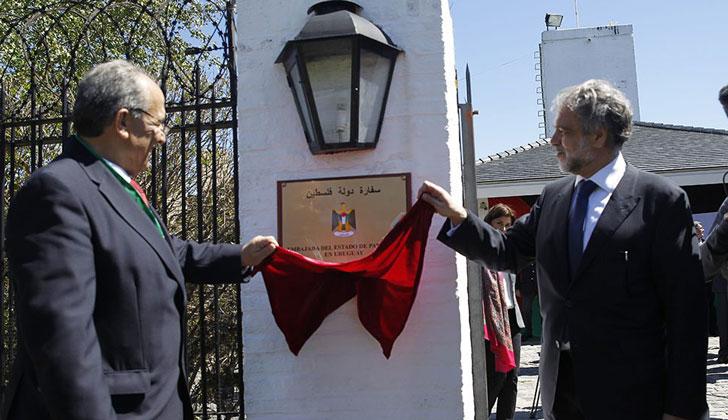Se realizó la apertura oficial de la embajada de Palestina en ...