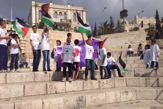 La ley no es suficiente para proteger a los niños palestinos