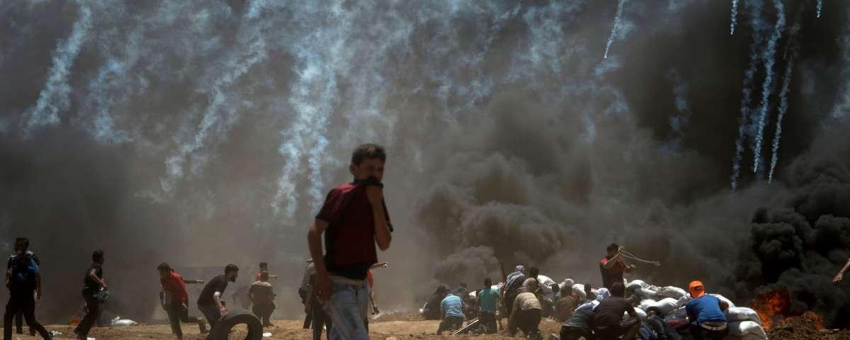 Europa calla: solo Macron condena los ataques en Gaza