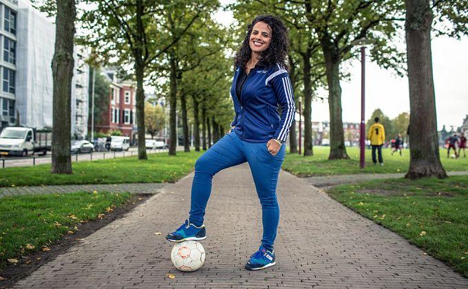 Primera capitana de la Selección: Honey Thaljieh, el embrión del fútbol femenino en Palestina