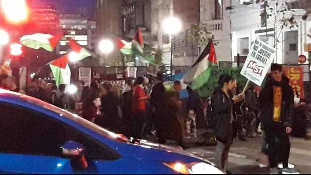 Realizan protesta en la AFA para que Argentina no juegue amistoso ante Israel