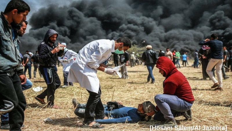 HRW alerta que 'disparar a personal médico tensa sistema sanitario' en Gaza