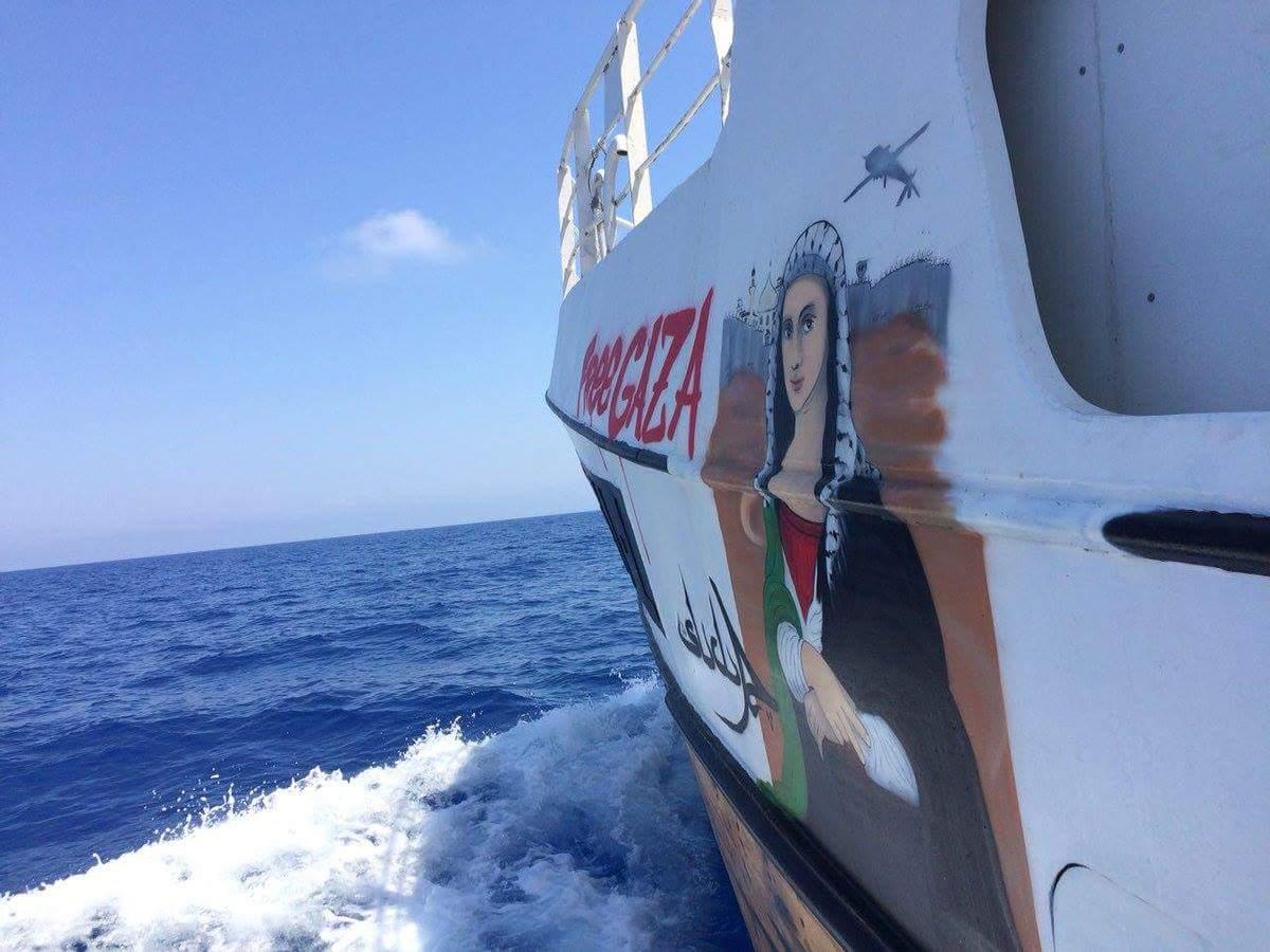 Activistas del barco interceptado por Israel dicen que fue un 'asalto violento'