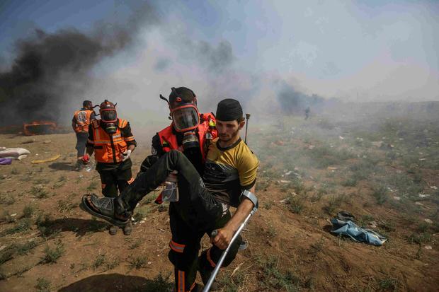 69749d - Catástrofe medioambiental en Gaza: 'Me siento como si viviera en una fosa séptica'