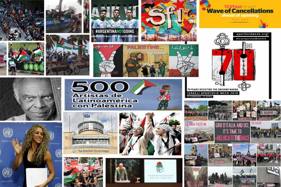 69772 - Palestina: 70 mejores momentos de solidaridad y apoyo al BDS durante este año 2018
