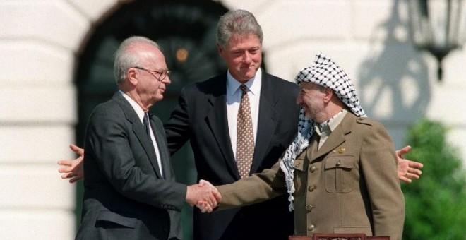 70149 - A 25 años de los acuerdos de Oslo la farsa continúa