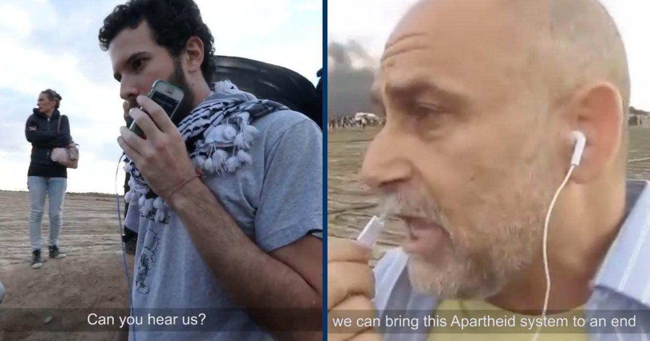 Israelíes antisionistas se unen a la Gran Marcha del Retorno: 'Podemos poner fin a este sistema de apartheid '