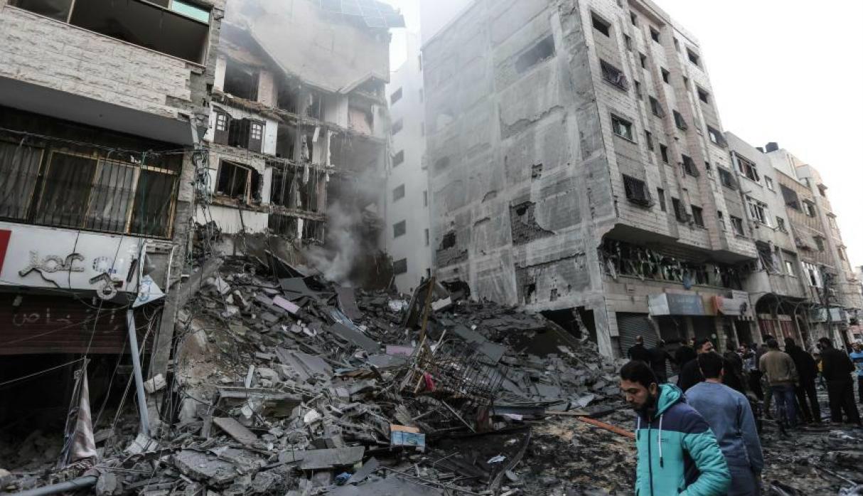 Fotos: Así quedó Gaza tras el masivo ataque con misiles de Israel
