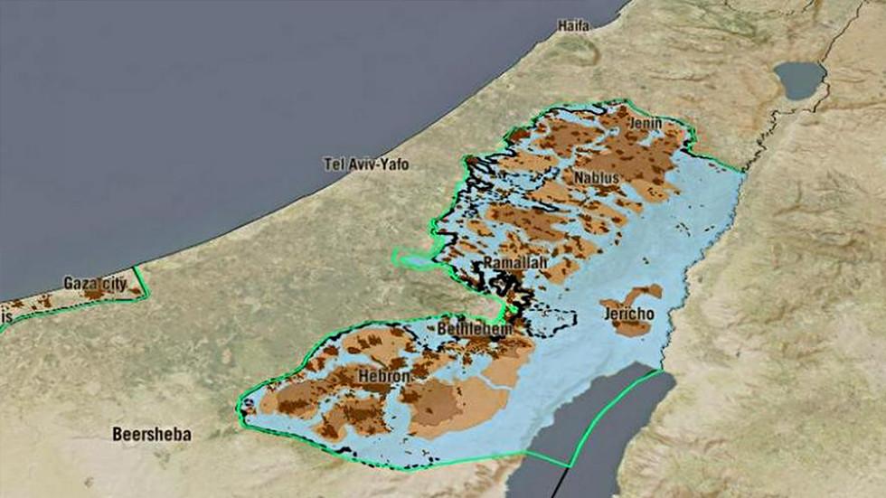 'Conquistar y dividir': Vea como una ONG israelí lanza un mapa interactivo que destaca los 52 años de ocupación