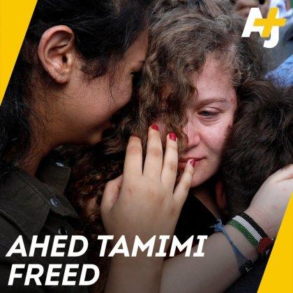 Ahed Tamimi: Israel no quiere conversaciones de paz, nos obliga a seguir luchando