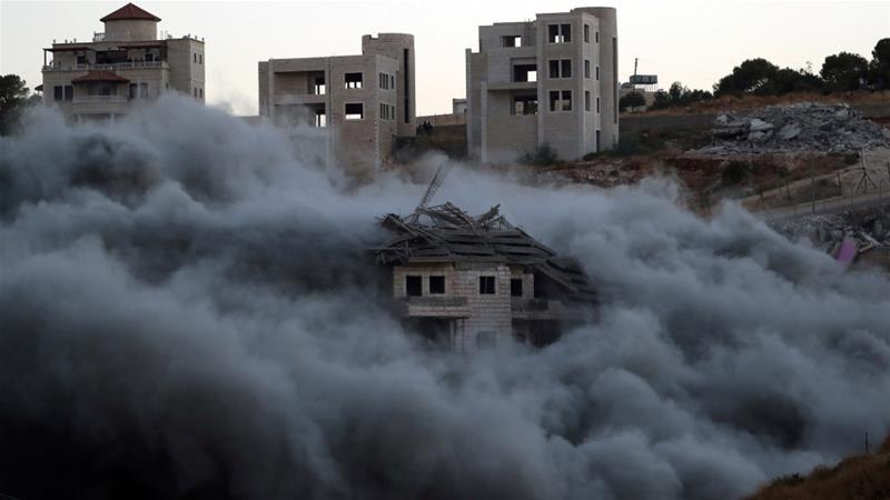 Wadi Hummus: un barrio palestino de Jerusalén demolido completo entre risas de los soldados israelíes