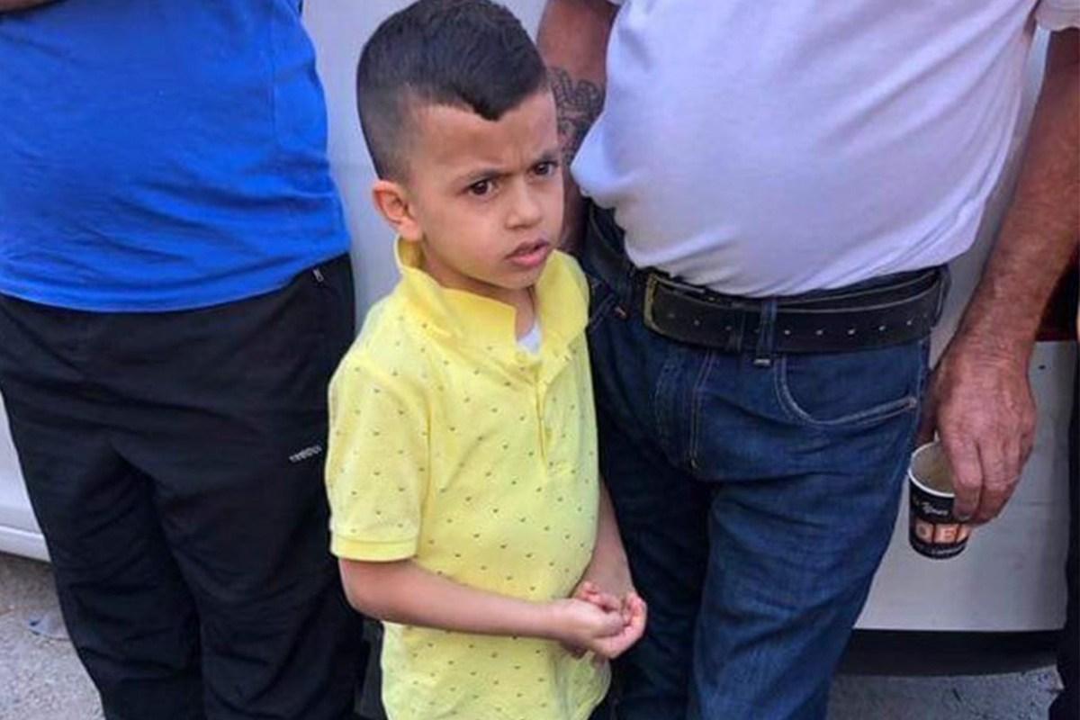 Muhammad Elayyan es sólo un pequeño niño palestino, pero aun así fue llevado a un interrogatorio israelí