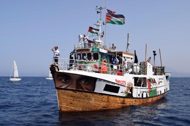 Hace un año ahora – Buques de guerra israelíes atacaron 'Al Awda' en aguas internacionales