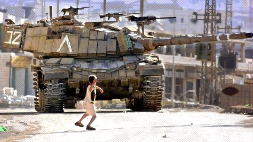 Palestina: Cuando una piedra puede tanto como un tanque