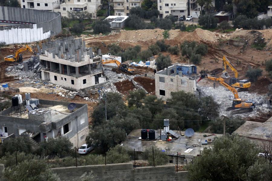 ONG denuncia existencia de colonia donde Israel demolió inmuebles palestinos