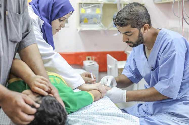 Palestinos enfrentan barreras para acceder a la salud, denuncia OMS