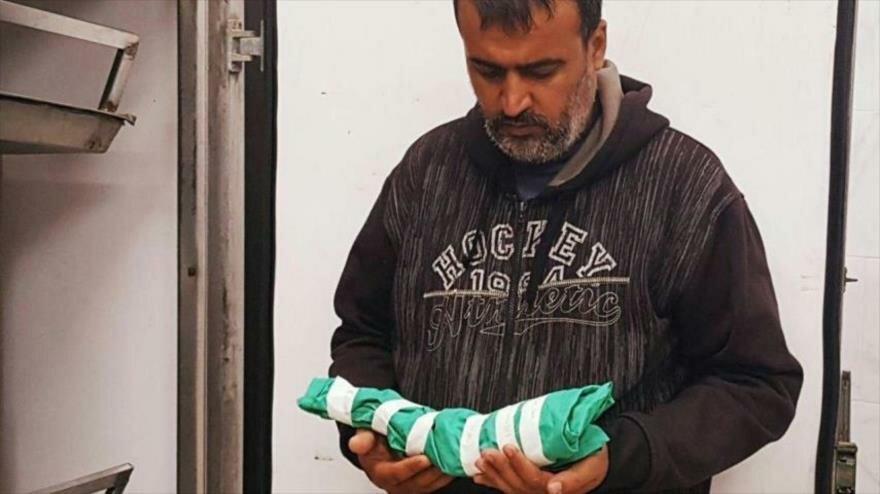 Foto: Ataque israelí causa muerte de un feto de seis meses en Gaza