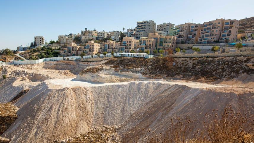 Israel comienza a trabajar en lo que se convertirá en el asentamiento más grande en Jerusalén Este