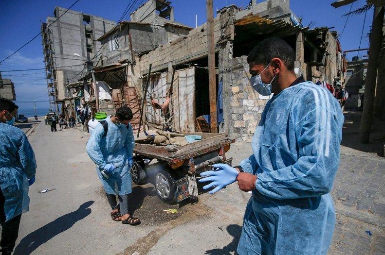 Un brote de Covid-19 en Gaza sería catastrófico