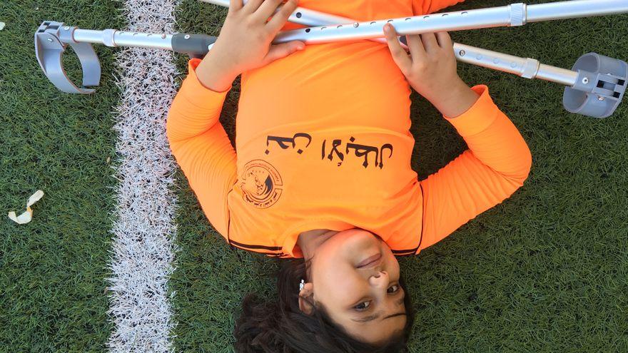 Ahed, una chica de Gaza con un espíritu inquebrantable