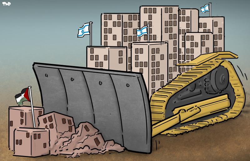 Sin mucho ruido y de una manera solapada, Israel continúa colonización ilegal de tierras palestinas ocupadas