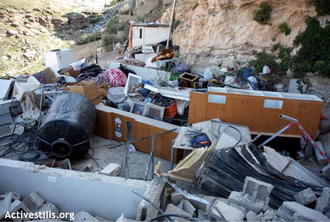 La ONU señala que Israel ha destruido en febrero 77 edificaciones palestinas de ayuda humanitaria