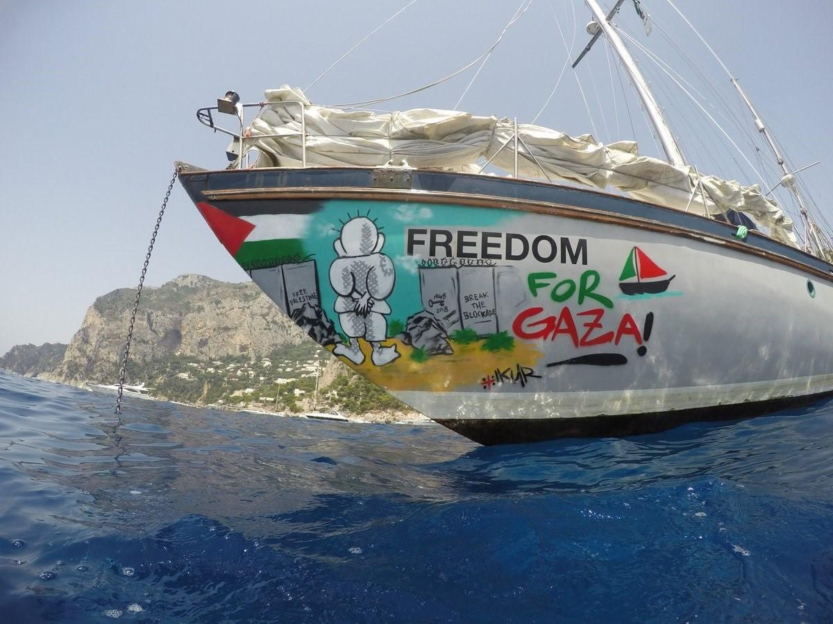 La Flotilla de la Libertad aplaza su viaje a Gaza para proteger de contagios a la población palestina