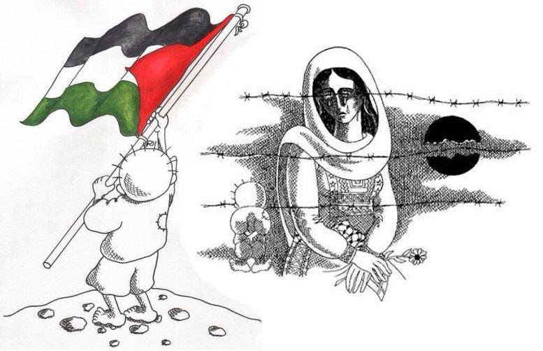 Las caricaturas políticas del artista palestino Nayi Al-Ali, vivas y recopiladas en un libro tres décadas después