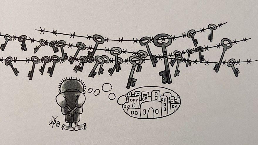 Nayi Al-Ali: El artista palestino que dibujó un niño para dibujar la humanidad