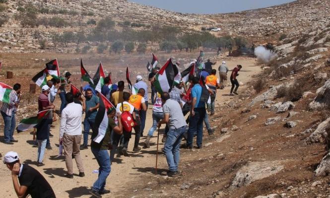 Hoy: 90 heridos por represión militar de la ocupación israelí en Beita y Beit Dajan en Cisjordania ocupada