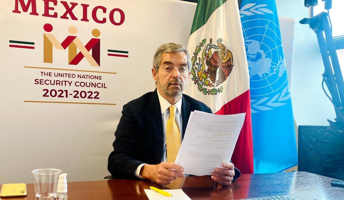 México considera ante el Consejo de Seguridad de la ONU que se debe levantar el bloqueo en la franja de Gaza