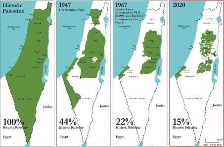 Palestina, no a la anexión
