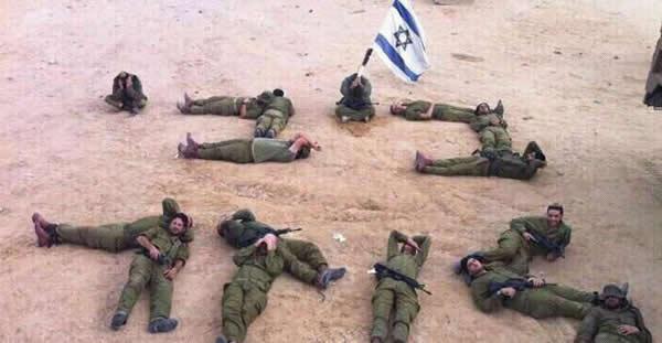 Bibi Perdedor Soldados Israelíes Se Fotografían Con Un